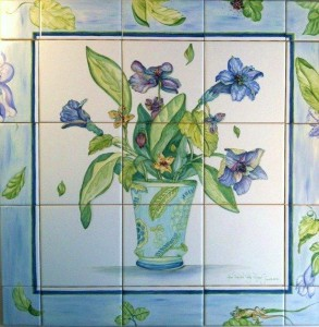 HAND PAINTED SINKS, TILES & MORE